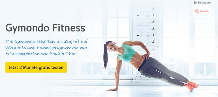 Gymondo 2 Monate kostenlos trainieren