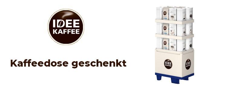 Kaffeedose von Idee Kaffee
