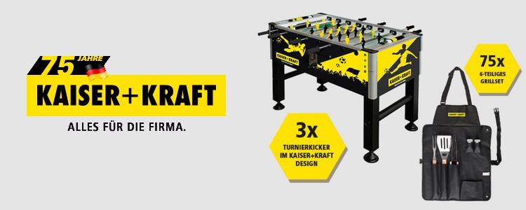 Kaiser & KRaft Gewinnspiel