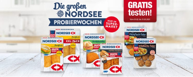 Nordsee-Produkte gratis testen