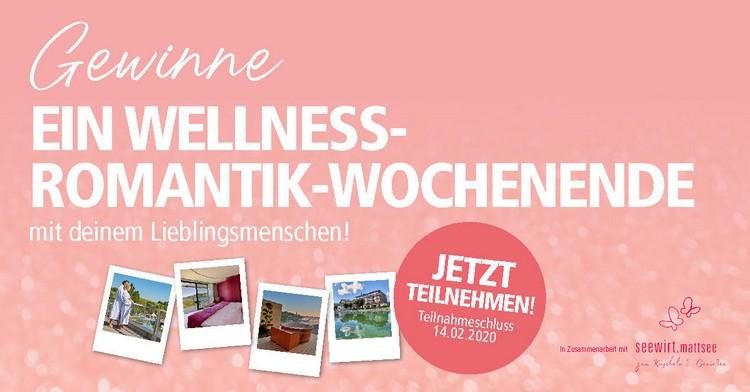 Wellness-Romantik-Wochenende gewinnen