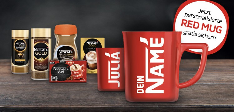 red Mug Nescafé