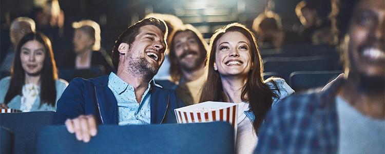 Mann und Frau im Kino