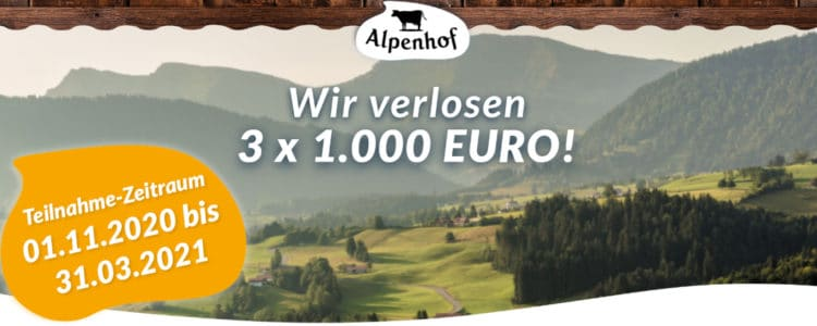 Alpenhof Gewinnspiel
