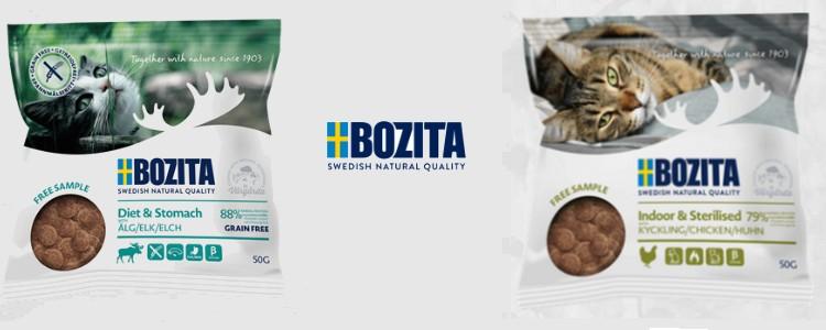Futterprobe von Bozita