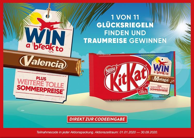 KitKat Gewinnspiel