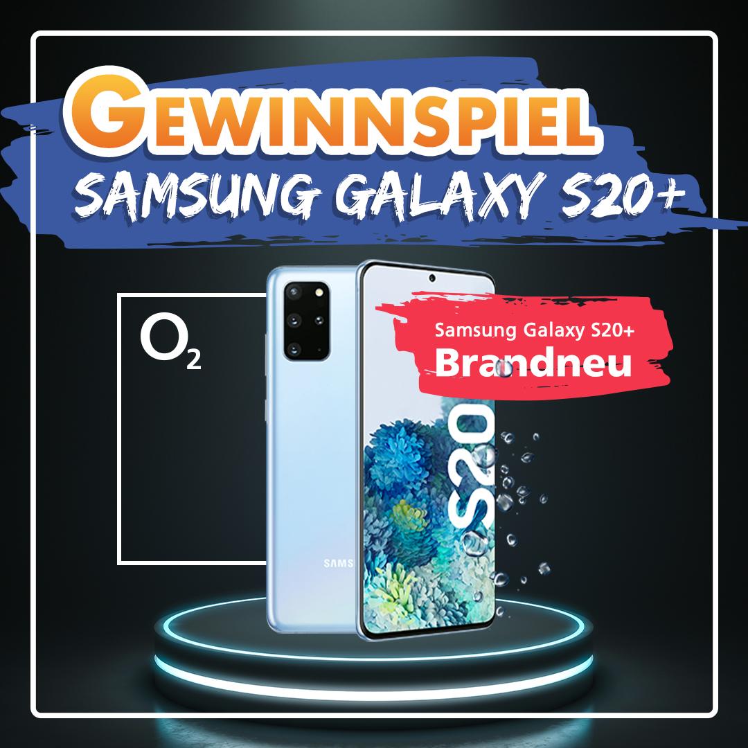 Samsung Galaxy S20+ gewinnen