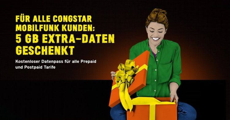 Congstar 5 GB gratis