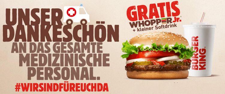 Heldemenü bei Burger King