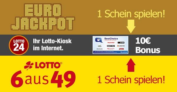 Lotto 6 aus 49 Bonus-Deal