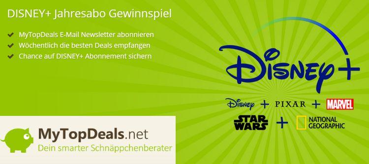 MTD Gewinnspiel Disney+