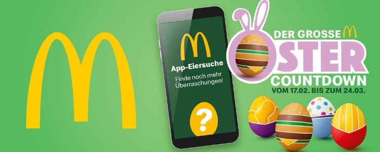 McDonalds Ostercountdown 2021