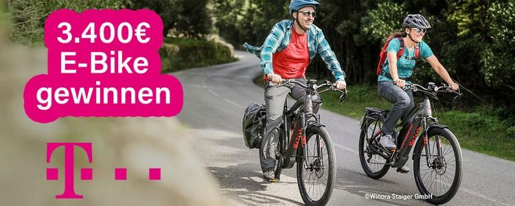 Telekom E-Bike Gewinnspiel