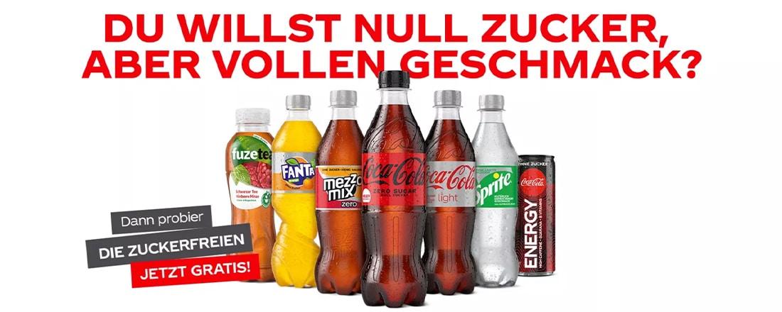 Coca Cola Zuckerfrei