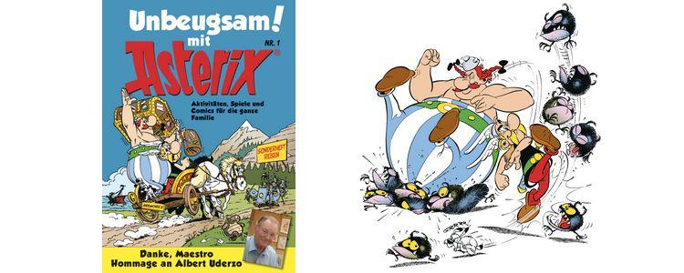 Comic von Asterix und Obelix