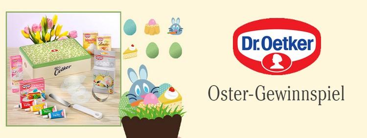 Dr Oetker OStergewinnspiel