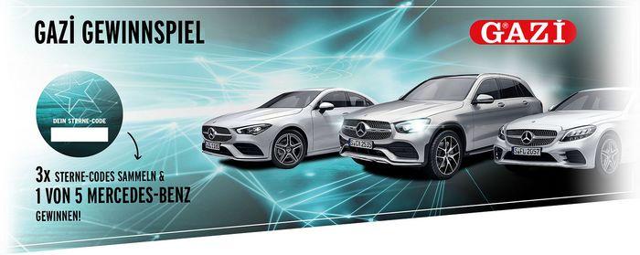 Mercedes Benz bei Gazi gewinnen