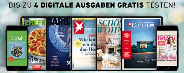 Magazine von Gruner + Jahr