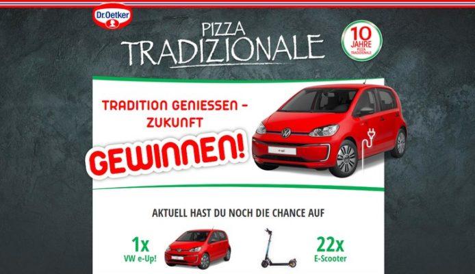 Pizza Traditionale Gewinnspiel
