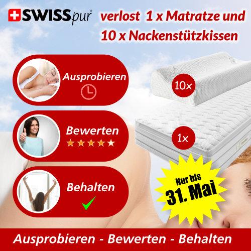 Swiss Pur Gewinnspiel
