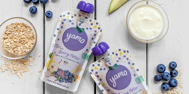 Yamo Babybrei gratis testen