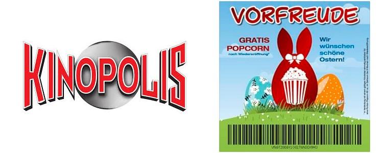Kinopolis gratis Popcorn