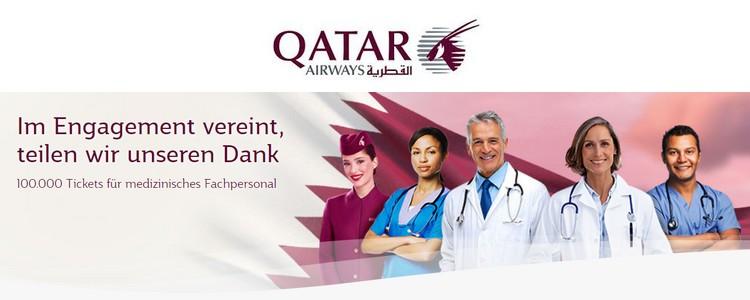 Danke-Angebot von Qatar Airways