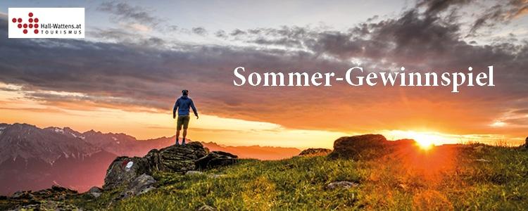 Hall Wattens Sommer-Gewinnspiel