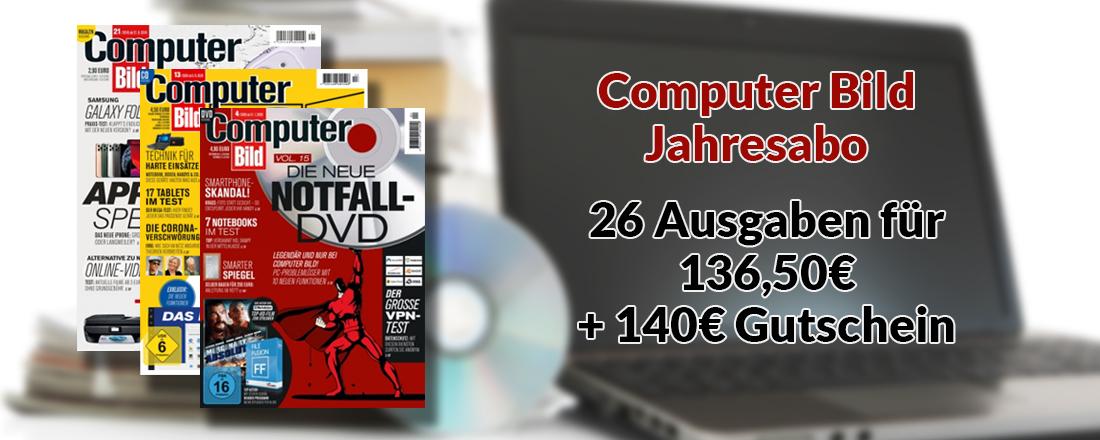 Computer Bild Jahresabo