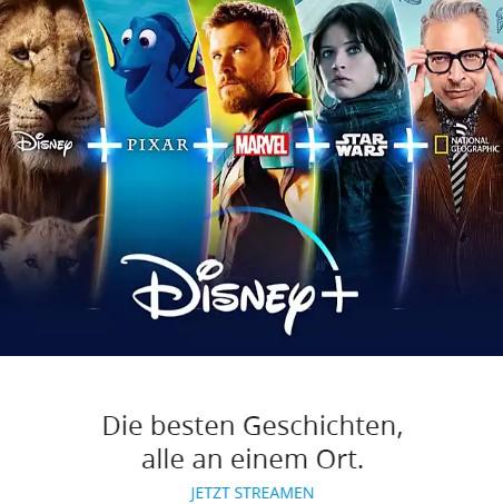 Disney + App Magentatv