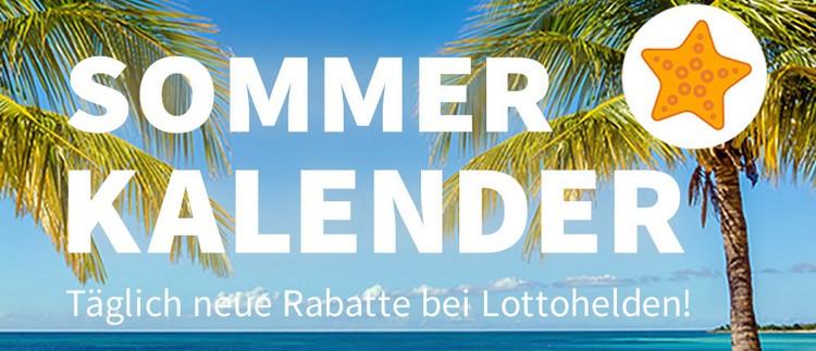 Lottohelden Sommerkalender