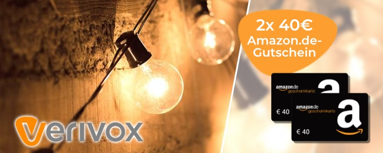 Verivox 40€ Amazon-Gutscheine