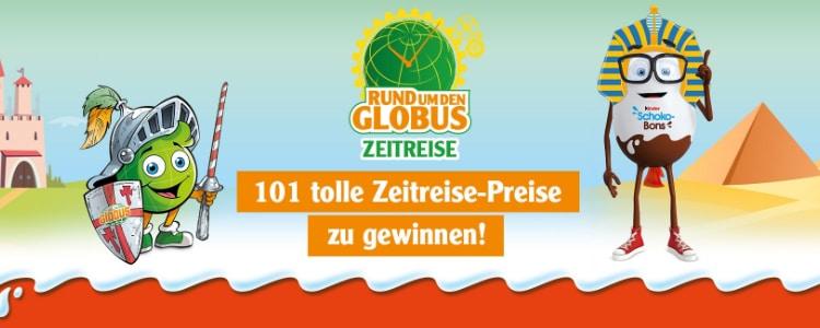 Globus Ferrero Gewinnspiel