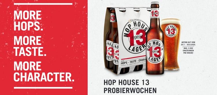Hop House 13 Probierwochen