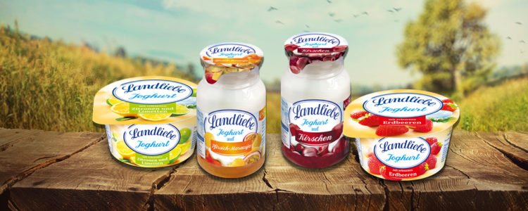 Joghurts von Landliebe