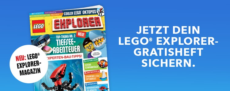 Gratis LEGO Explorer Magazin