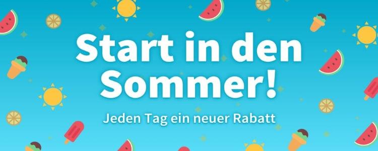 "Aktionswoche ""Start in den Sommer"""