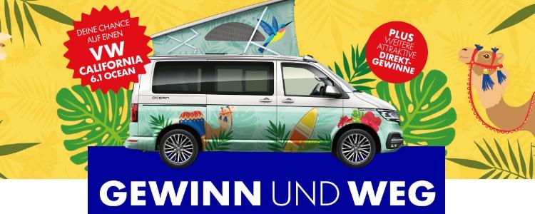 Ritter Sport Fernweh-Gewinnspiel