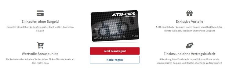 ATU Card Vorteile
