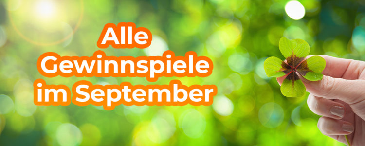 Gewinnspiele im September