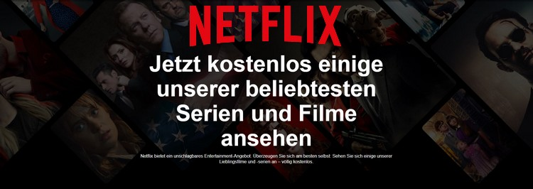 Netflix gratis streamen