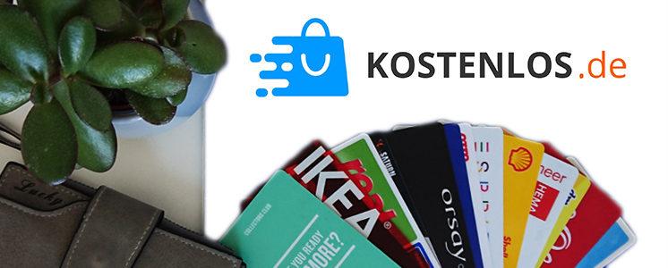 Kundenkarten mit KL Logo