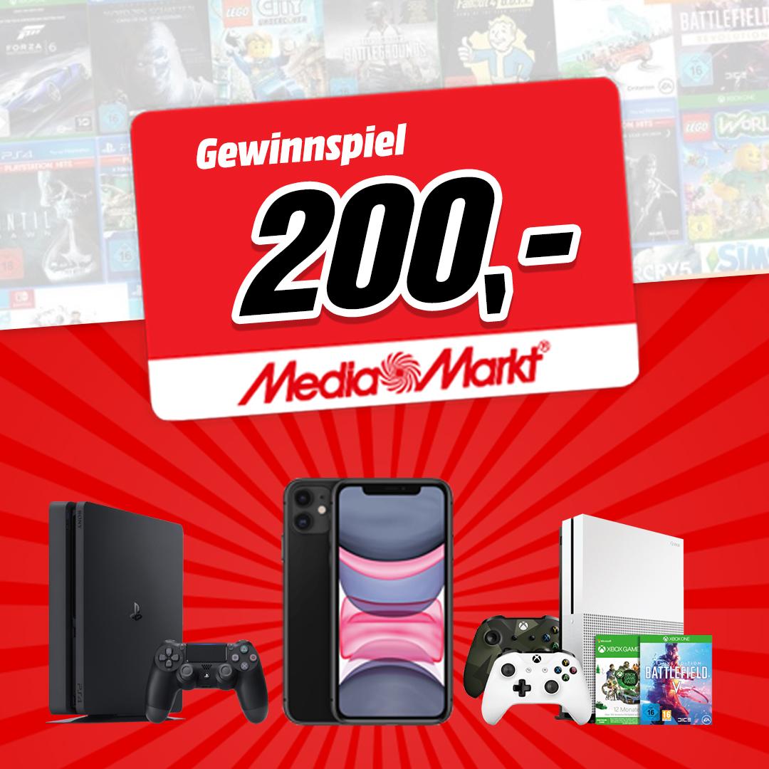 MediaMarkt Gutschein gewinnen