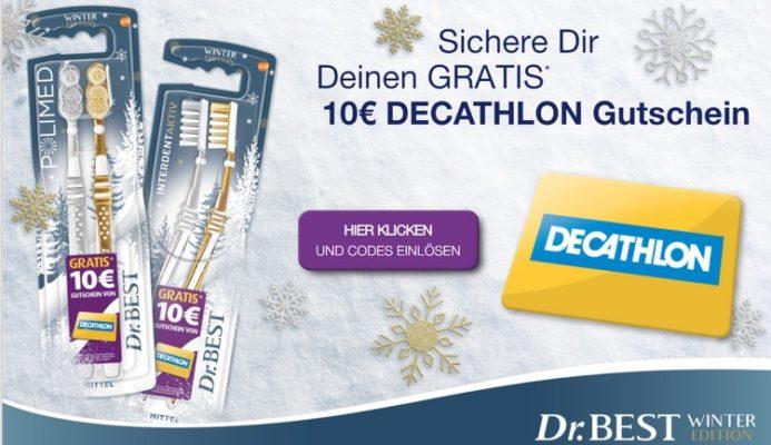 Dr. BEst kaufen, Decathlon Gutschein erhalten