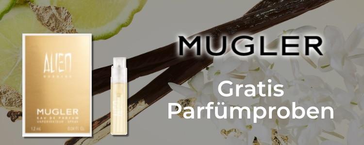 Gratis Parfümproben von Mugler
