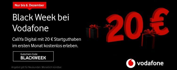 Vodafone Black Week-Angebot