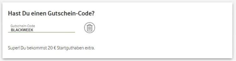 20€ Guthaben geschenkt: Vodafone 10 GB LTE 4 Wochen kostenlos