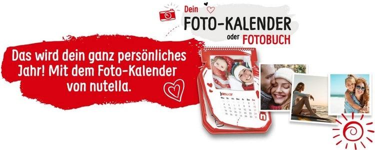 Fotokalender von Nutella