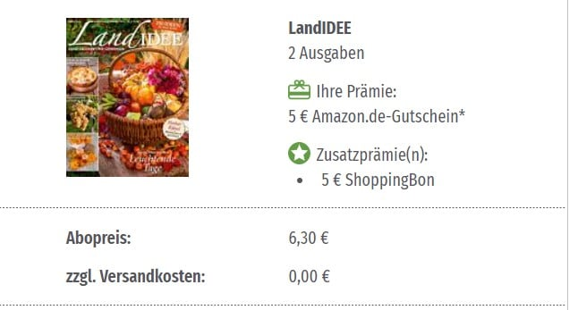 LandIDEE für 6,30€