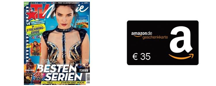 TV Movie 13 Ausgaben + 35€ Gutschein